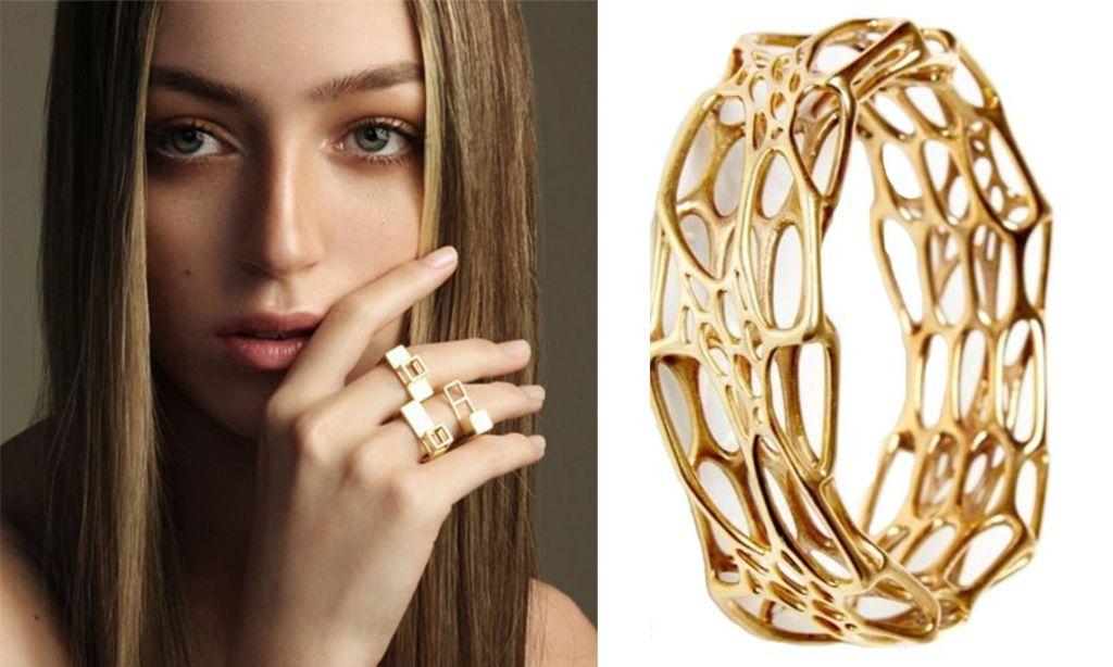 эксклюзивные кольца из золота